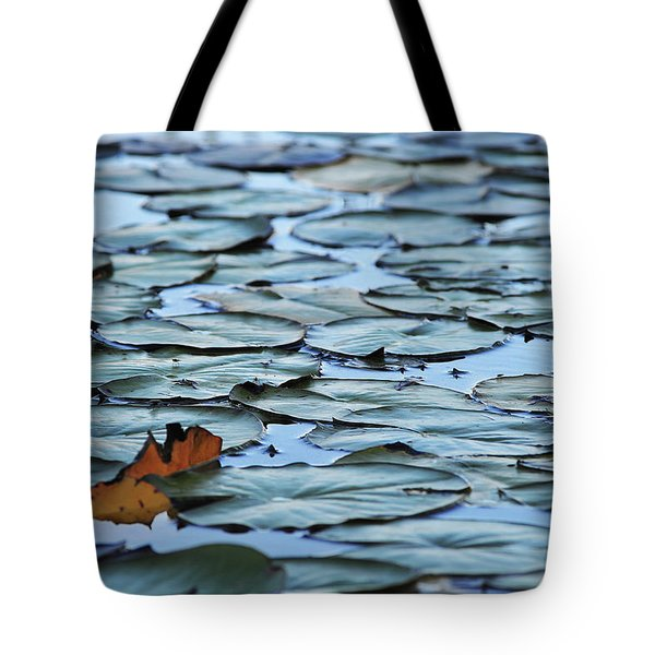 Tote Bag featuring the photograph Pads by Scott Cordell