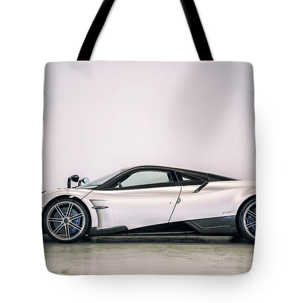 Tote Bag featuring the photograph #pagani #huayra Bc by ItzKirb Photography