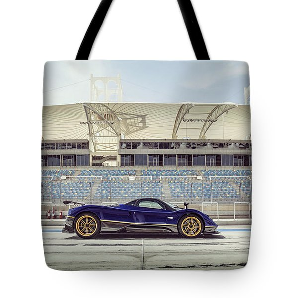 Pagani Zonda In Bahrain Tote Bag