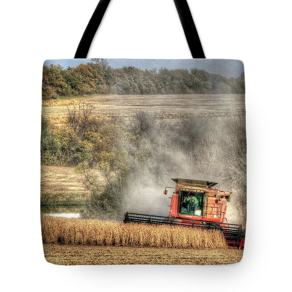 Page County Iowa Soybean Harvest Tote Bag