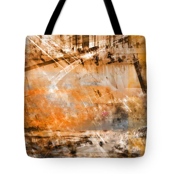 Tote Bag featuring the digital art Page From A Diary by Art Di