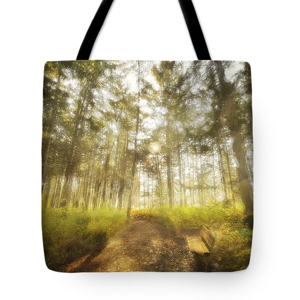 Pages Of Morning Poetry Tote Bag