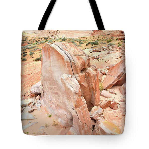 Tote Bag featuring the photograph Pages Of Stone In Valley Of Fire by Ray Mathis