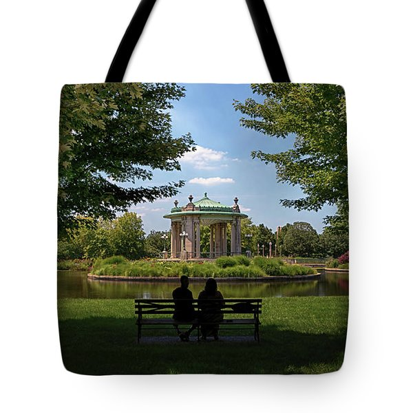 Pagoda Circle Interlude Tote Bag