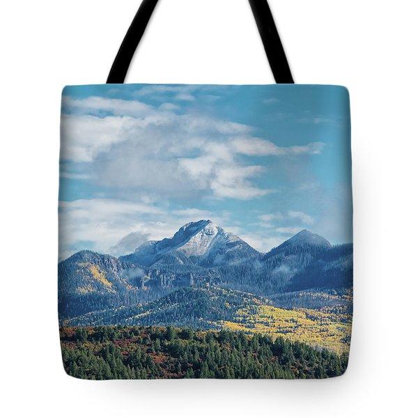 Pagosa Peak Autumn 2014 Tote Bag