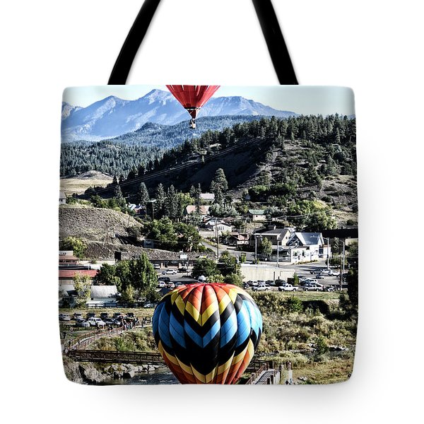 Pagosa Springs Colorfest 2015 Tote Bag