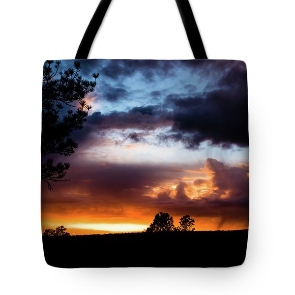 Pagosa Sunset 11-20-2014 Tote Bag