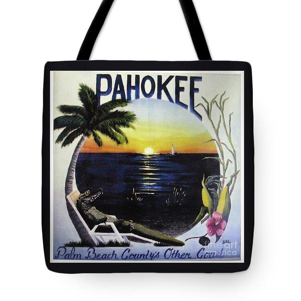 Pahokee Logo Tote Bag