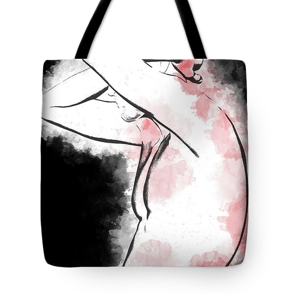 Pain And Depression Tote Bag by Peter J Sucy