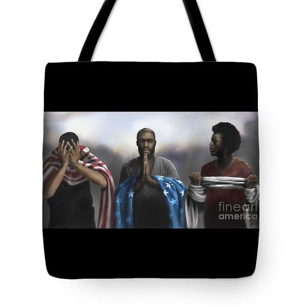 Pain, Prayer And Perseverance Tote Bag