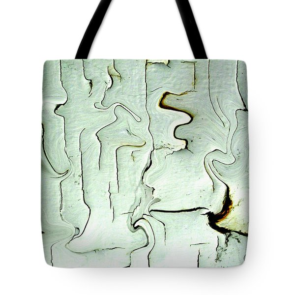 Tote Bag featuring the photograph Paint Abstraction 2 by Mary Bedy