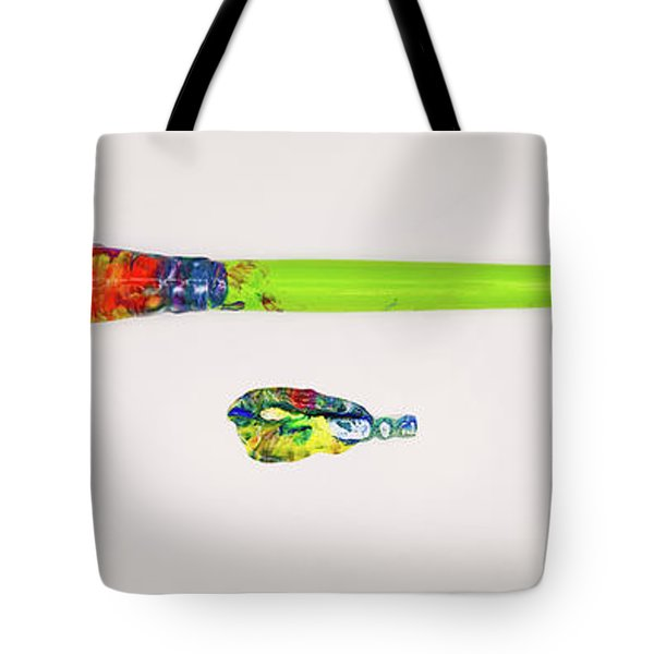 Paint Brush Of The Soul Tote Bag
