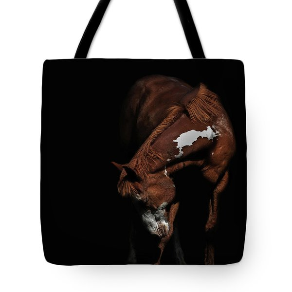Paint In Black II Tote Bag