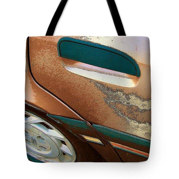 Paint Job Tote Bag by Lenore Senior