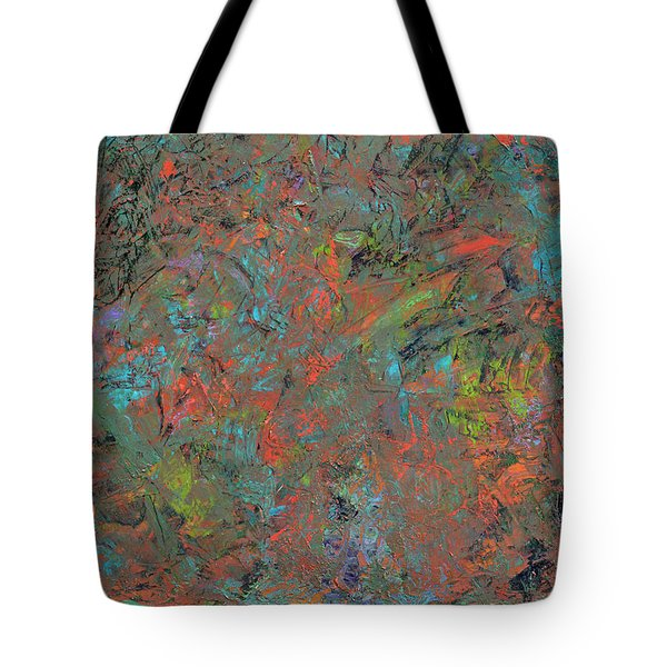 Paint Number 17 Tote Bag by James W Johnson