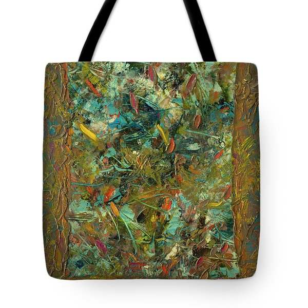 Paint Number 24 Tote Bag by James W Johnson