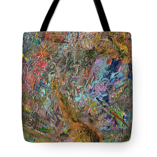 Paint Number 26 Tote Bag by James W Johnson