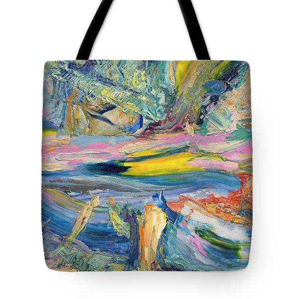 Paint Number 31 Tote Bag
