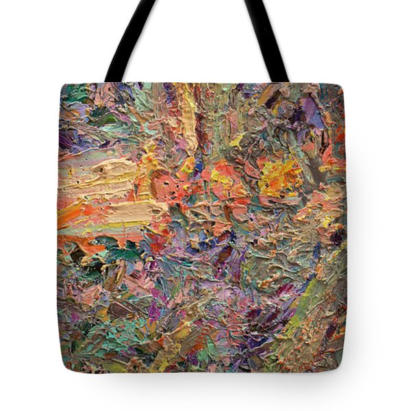 Paint Number 34 Tote Bag by James W Johnson