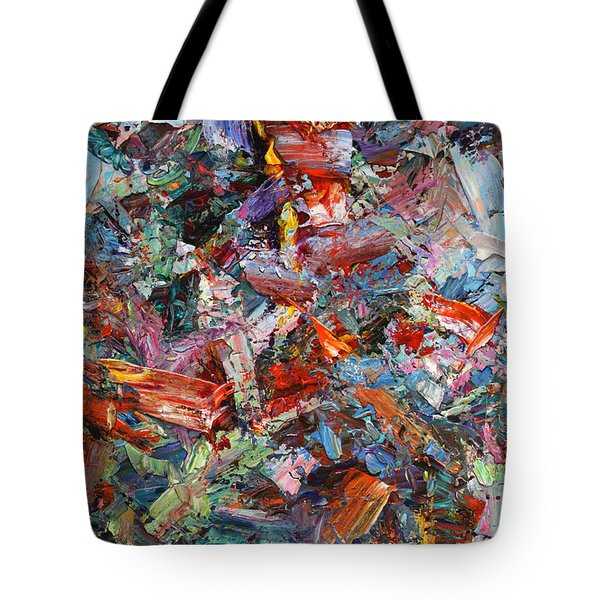 Paint Number 42-a Tote Bag by James W Johnson