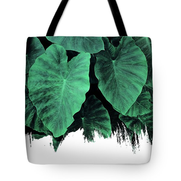 Paint On Jungle Tote Bag