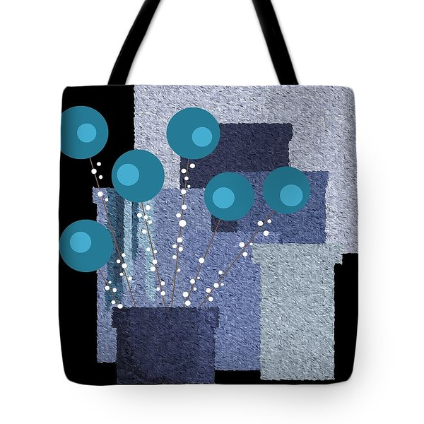 Paint Pots And Flowers Tote Bag