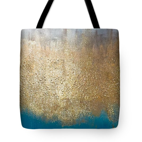 Paint The Sky Gold Tote Bag