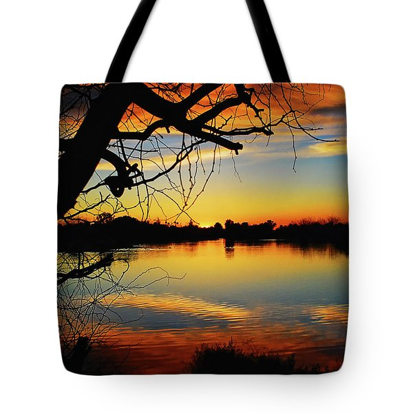 Paint The Sky Tote Bag by Saija  Lehtonen
