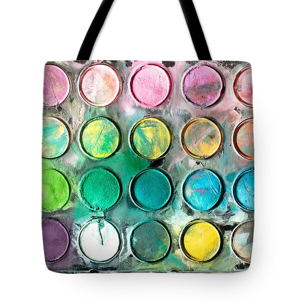 Paint Tray Tote Bag