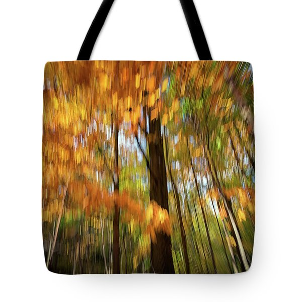 Painted Autumn Tote Bag