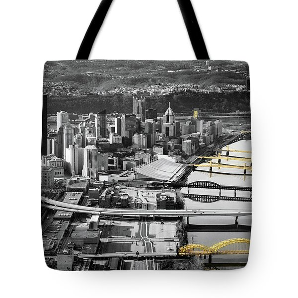 Painted Bridges  Tote Bag