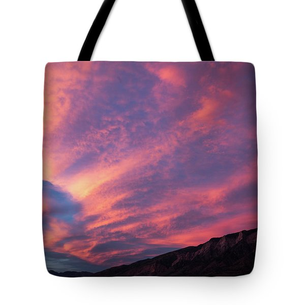 painted by Sun Tote Bag