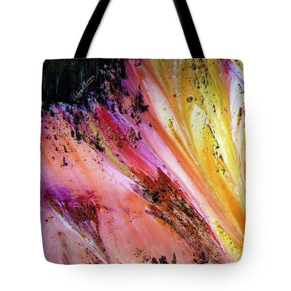Painted Canyon Tote Bag