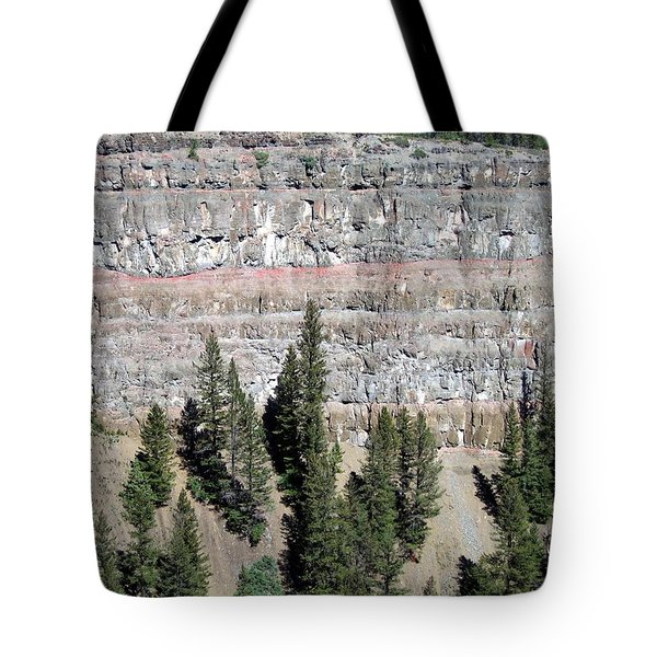 Painted Chasm Tote Bag