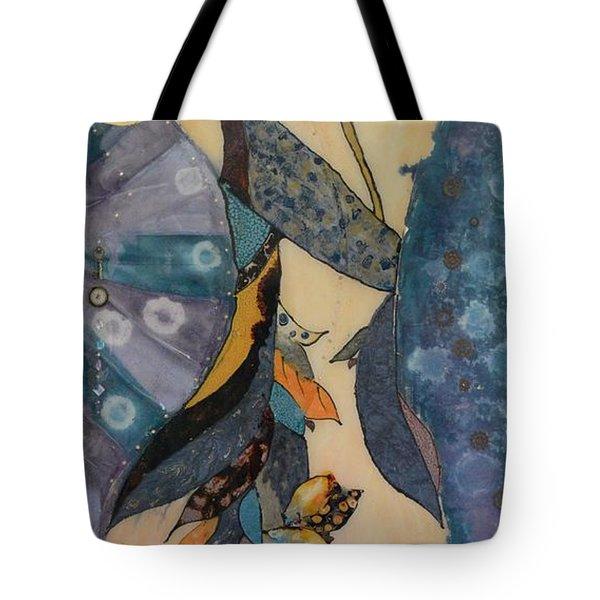 Painted Dancer Tote Bag