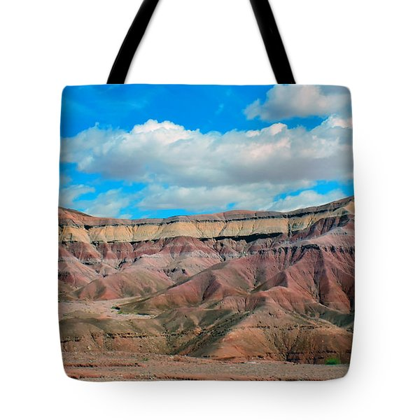 Painted Desert Tote Bag by Charlotte Schafer