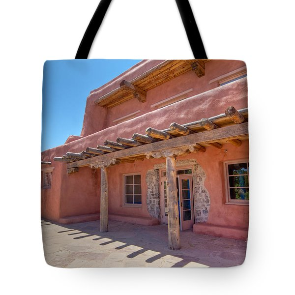 Painted Desert Inn Back Terrace Tote Bag