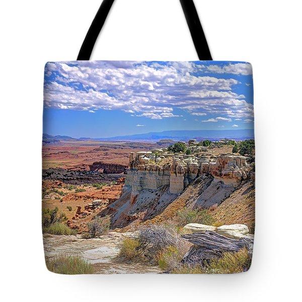 Painted Desert Of Utah Tote Bag