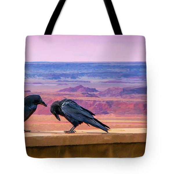 Painted Desert Pals Tote Bag