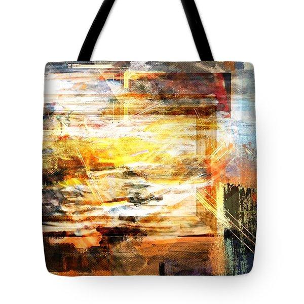 Tote Bag featuring the digital art Painted Dreams by Art Di