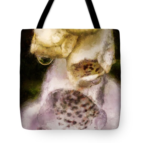 Painted Droplets Tote Bag