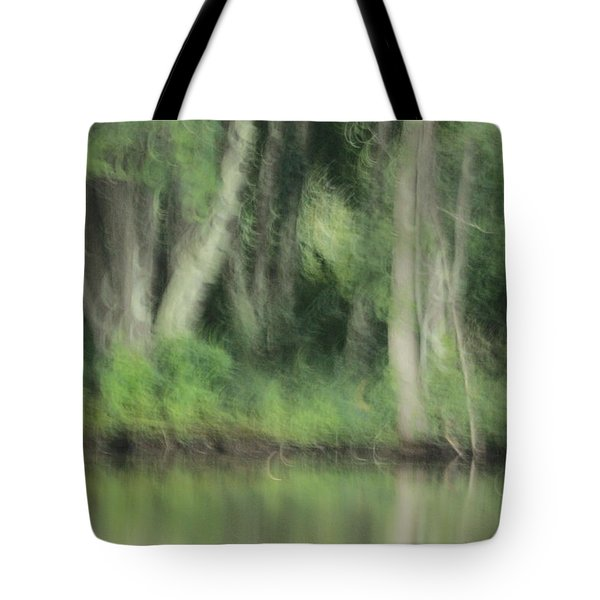 Painted Forest  Tote Bag by Karol Livote