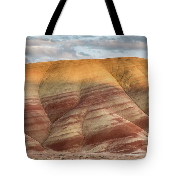Tote Bag featuring the photograph Painted Hill At Last Light by Greg Nyquist
