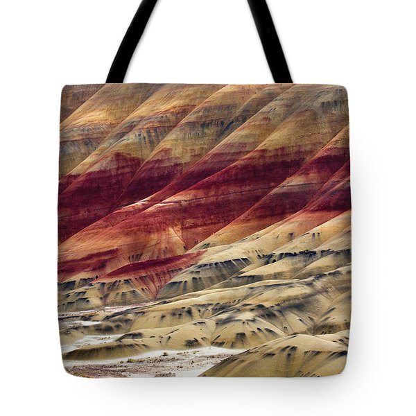 Painted Hills Contour Tote Bag by Mike  Dawson