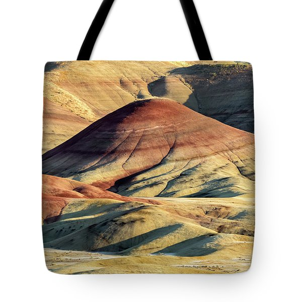 Painted Hills, Oregon Tote Bag by Jerry Fornarotto