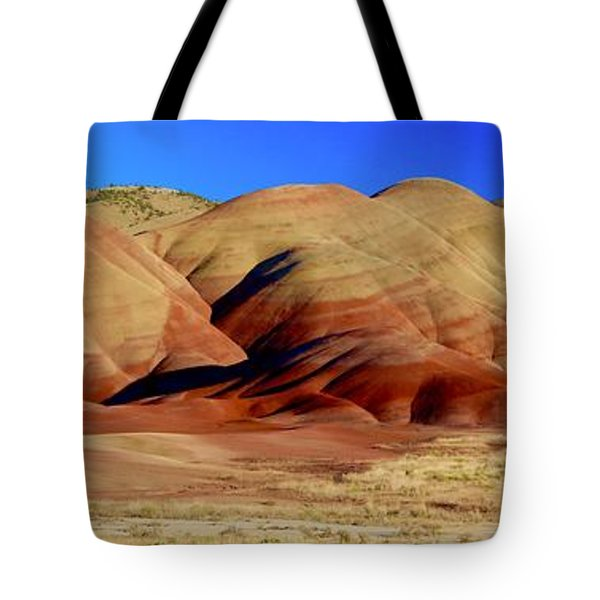 Painted Hills Pano Tote Bag