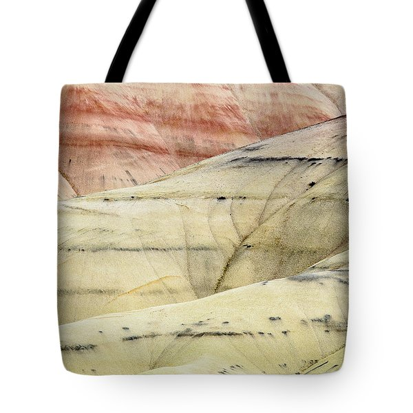 Tote Bag featuring the photograph Painted Hills Ridge by Greg Nyquist