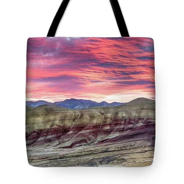 Painted Hills Sunrise Tote Bag