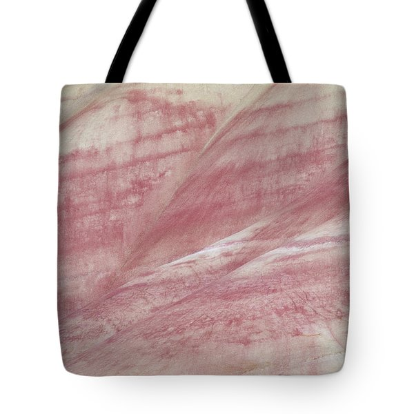 Painted Hills Textures 1 Tote Bag by Leland D Howard