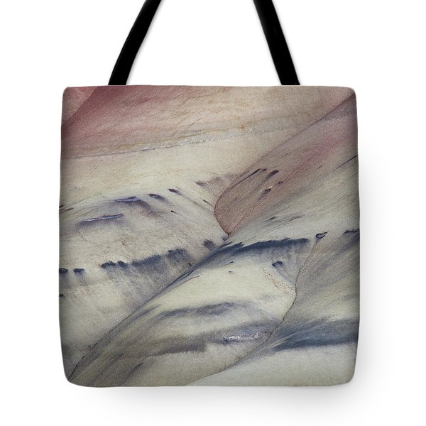 Painted Hills Textures 2 Tote Bag by Leland D Howard